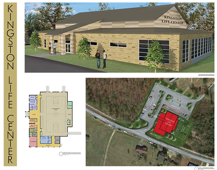 Drawings for Kingston Life Center