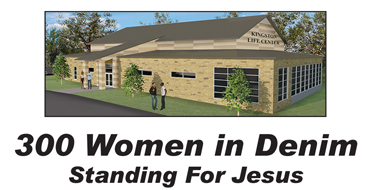 300 Women in Denim Standing For Jesus